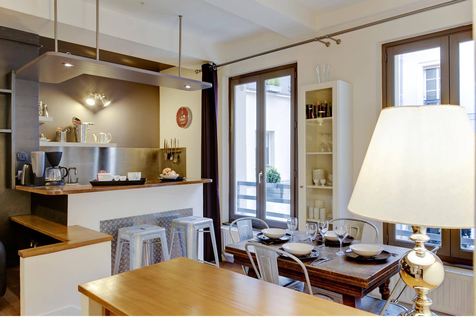 Appartement maison nicolas flamel paris for Appartement original
